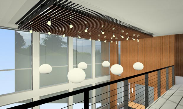 Plans submitted to city and other updates a house by for False ceiling lighting ideas
